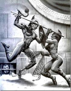 жена гладиатор