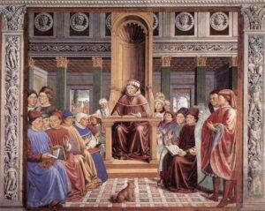 Схоластиката е една от двете систематични средновековни философии